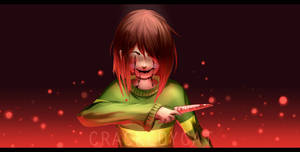 * Welcome to my special hell. - Glitchtale