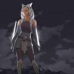 Ahsoka - Star Wars Rebels by crackedycat