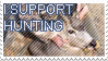 Support Hunting by BlauStamps