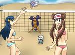 Pokemon Beach Volleyball