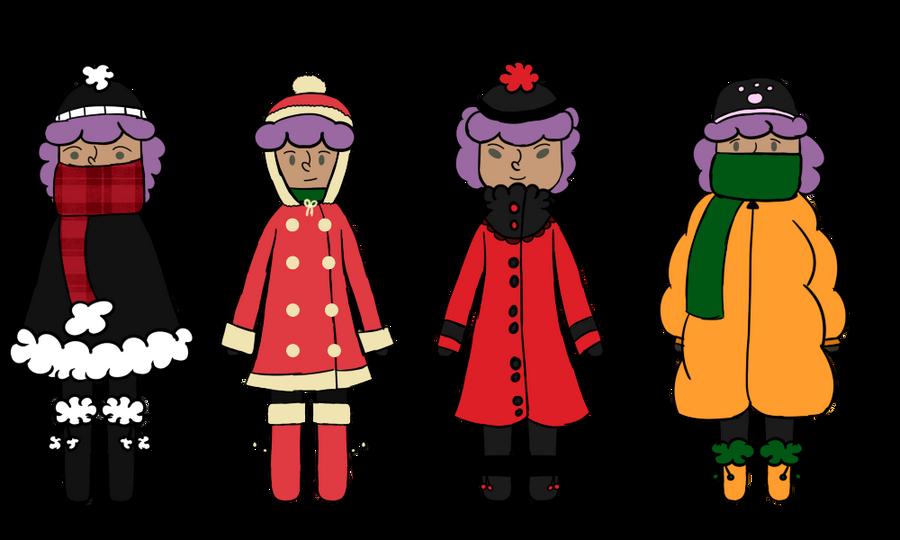 HPM Walking in a Winter Wonderland by Otato-Otato