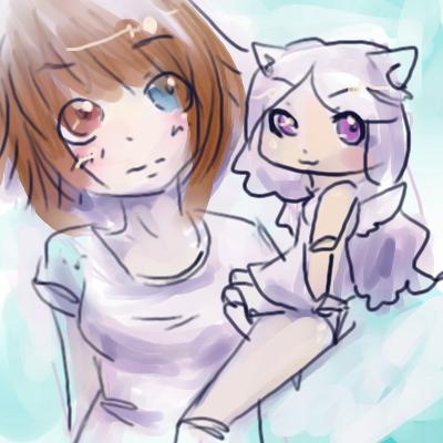 . Luna and Felix . by CrackNinja