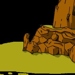 Desert Rocks by Z-roplz