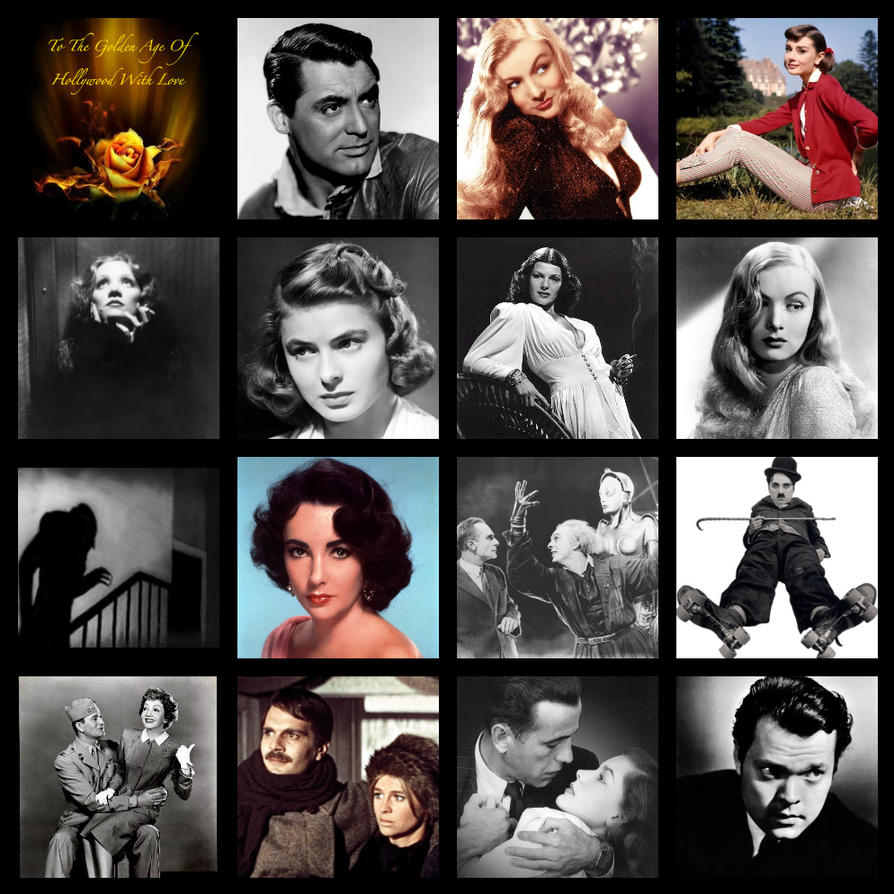 Hollywood's Golden Age by HalloweenMAGE on DeviantArt
