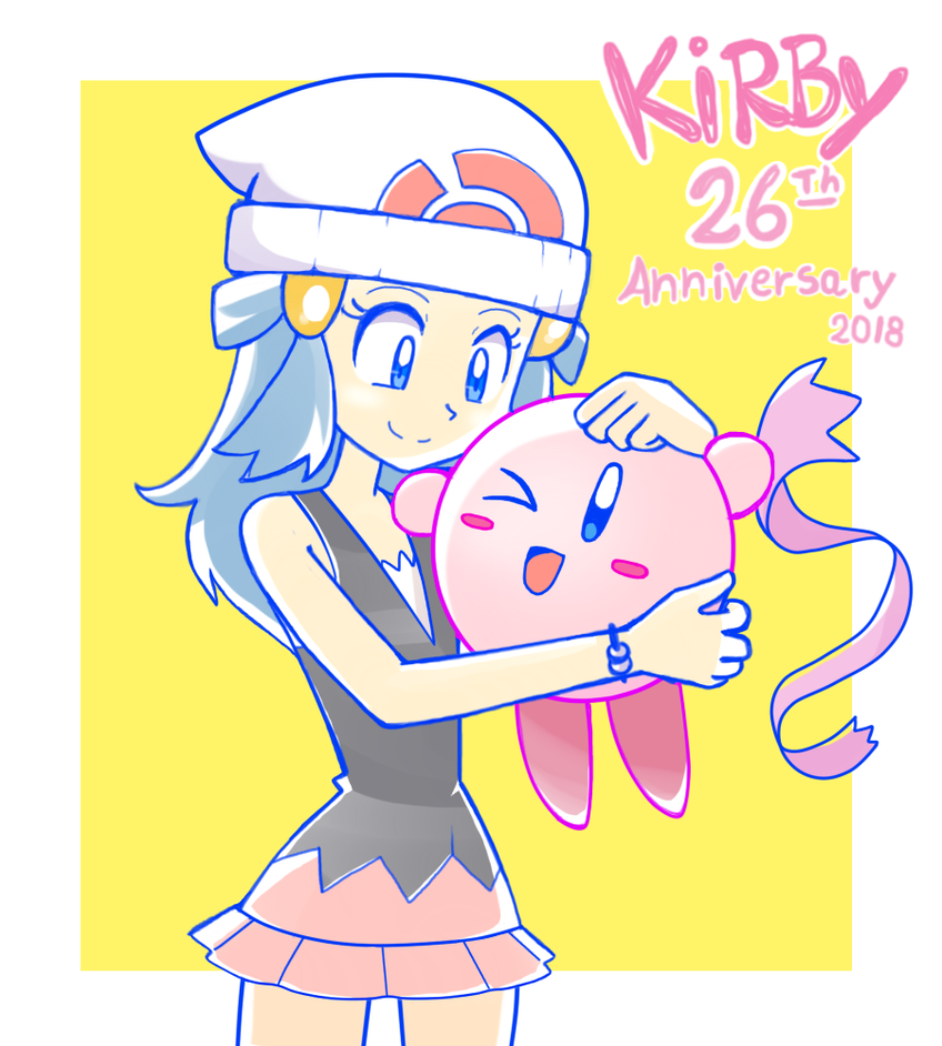 Kirby and Dawn by Andres2610
