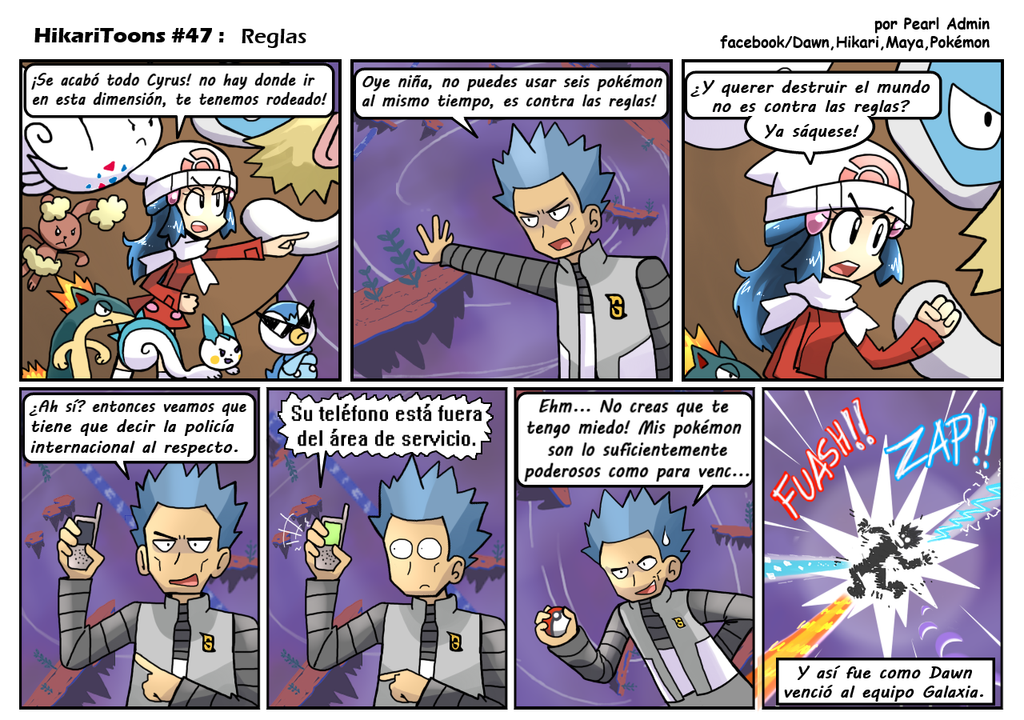 HikariToons #47 - Reglas by Andres2610