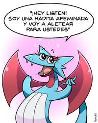 Mocking Salamence by Andres2610