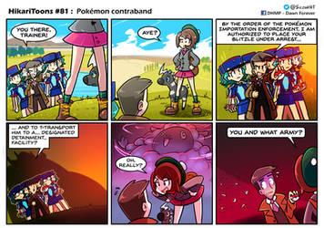 HikariToons #81 - Pokemon contraband