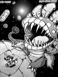 Day 8 - Teeth // Super Mario Galaxy
