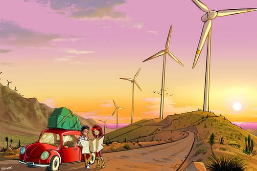 Concept art: Wind Park