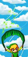 Bookmark - Deku Leaf Gliding