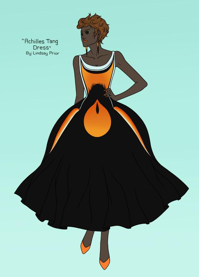 Achilles Tang Dress By Sketchtastrophe On DeviantArt