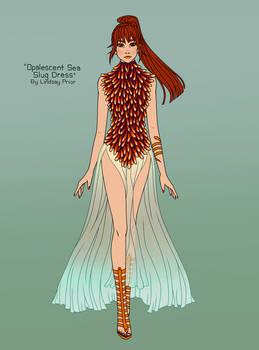 Opalescent Sea Slug Dress