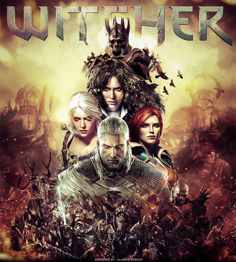 The Witcher 3 Poster (Fan Made) by C0NFUZZLE
