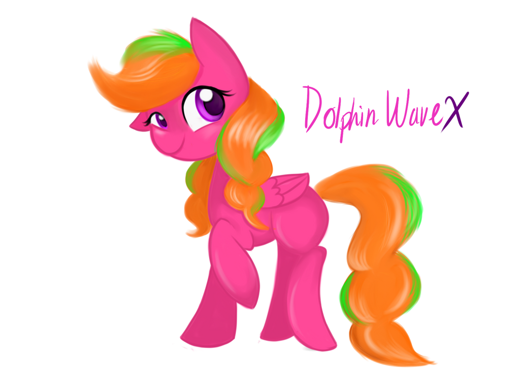 Art Trade with Dolphin Wave X by LCpegasister75