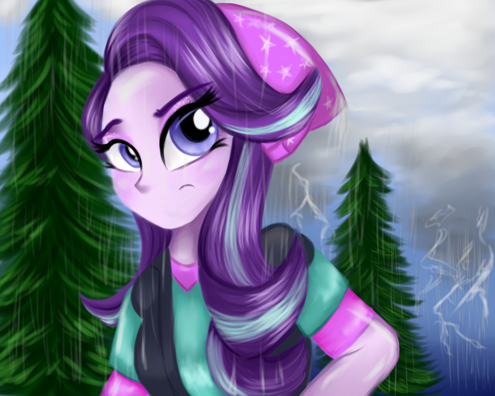 Starlight in the Rain by LCpegasister75