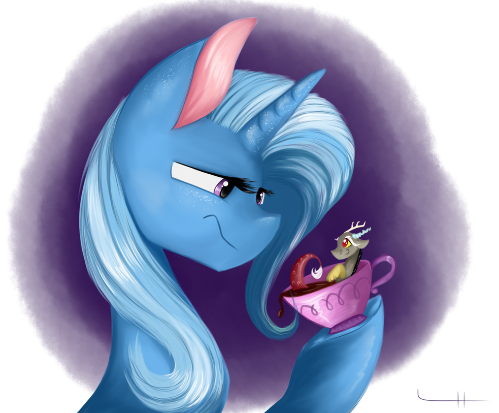 Not Impressed. by LCpegasister75