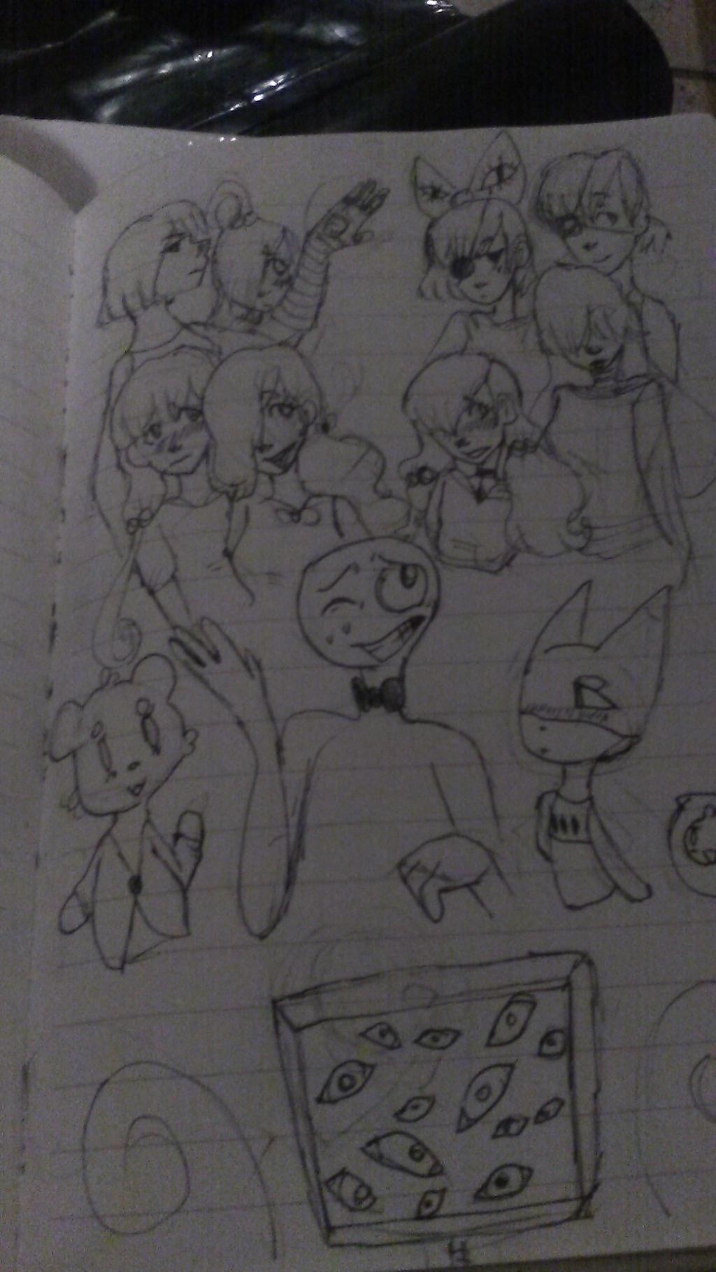 Original Characters by Devilishkitty21