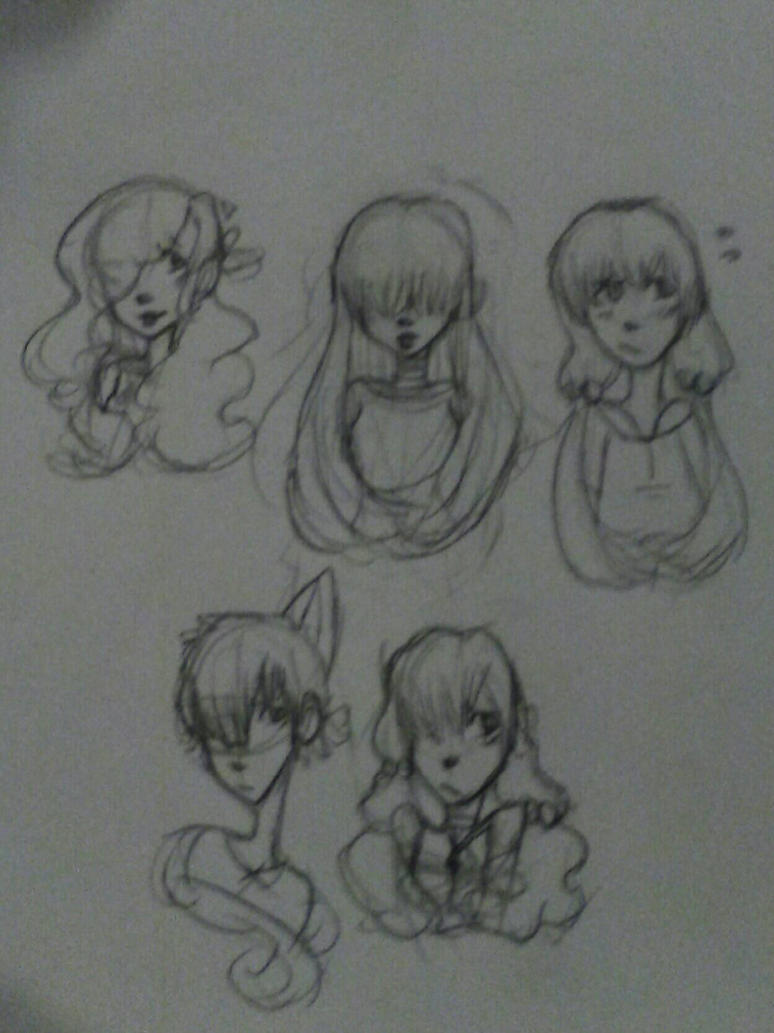 OC Drawing by Devilishkitty21