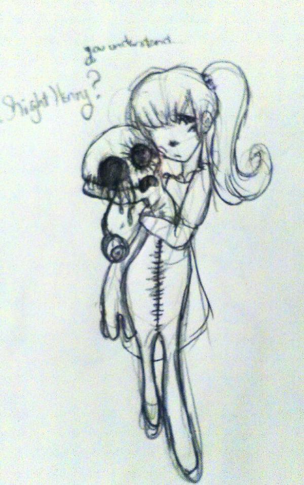 Strange Doll by Devilishkitty21