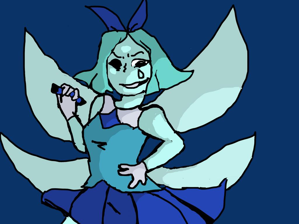 Aquamarine Doodle by Devilishkitty21