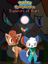 PMD - Explorers of Heart Cover by Evildraws