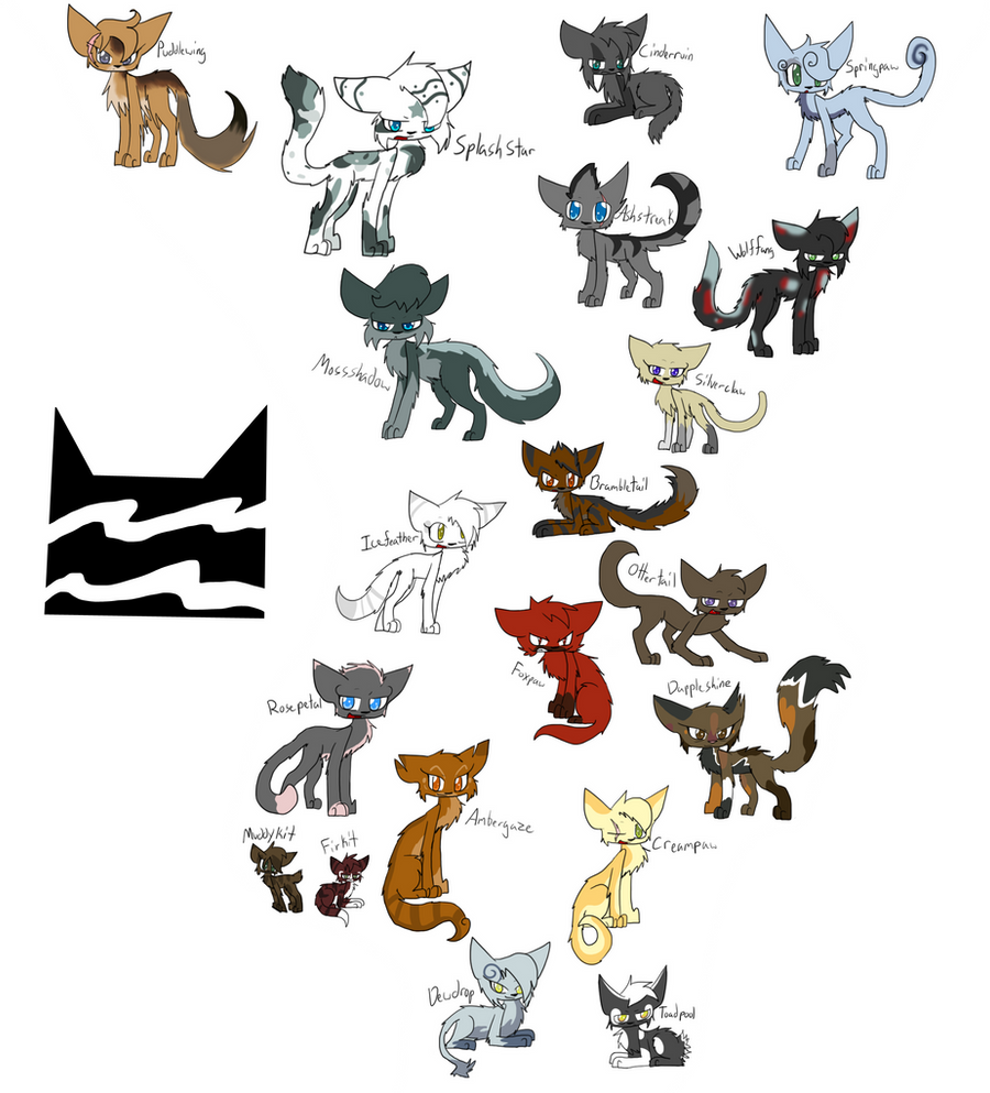 Warrior Cats Kit To Leader Bloodclan: Riverclan Alliances By Evildraws