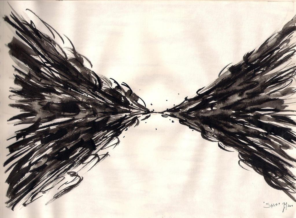 Split by ArtistSoul13