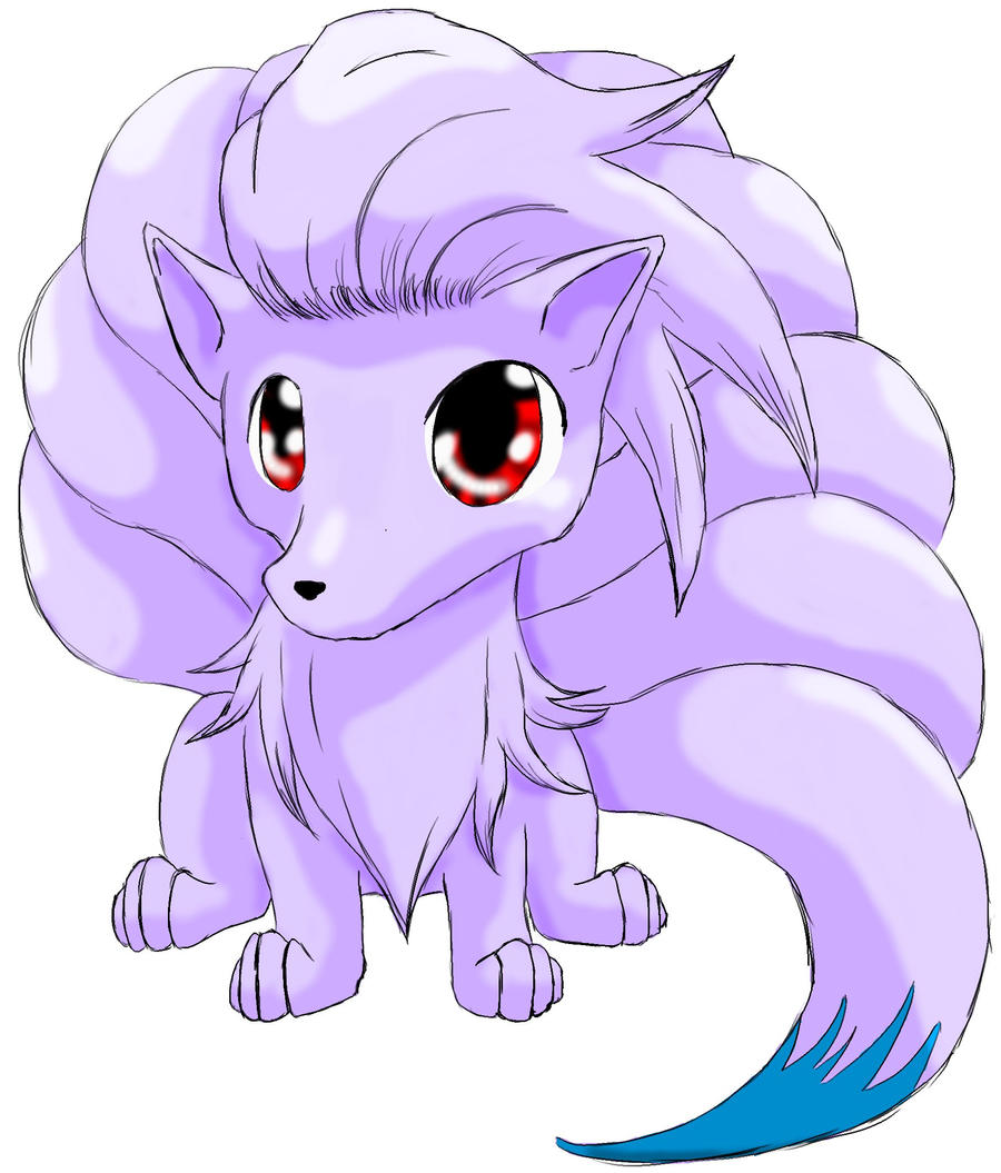 how to draw vulpix cute