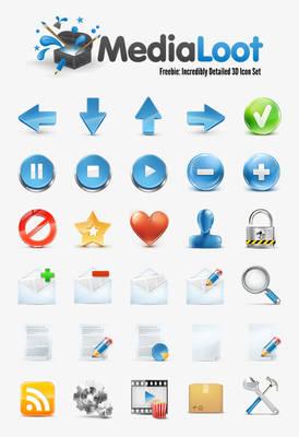 Medialoot icons
