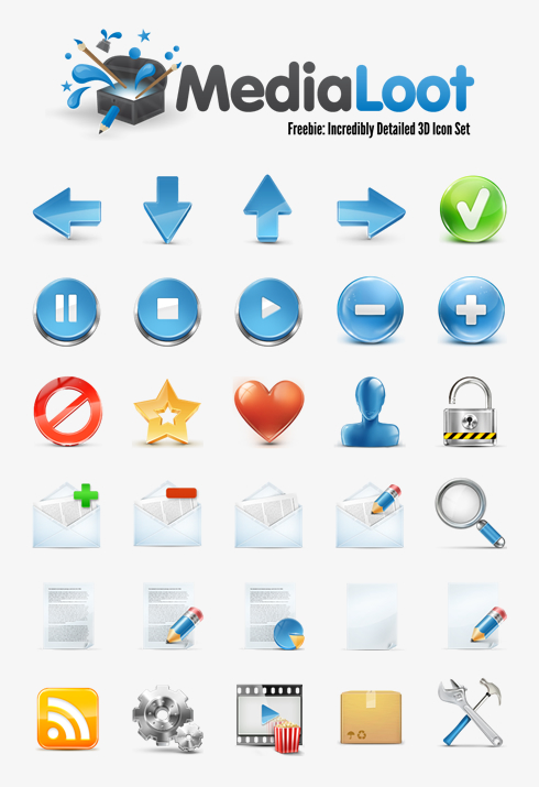 Medialoot icons by lazymau