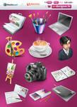 Designer portfolio icons