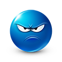 Upset Emoticon by LazyCrazy