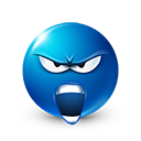This is Sparta Screaming Emoticon by lazymau