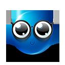 Geeky Emoticon by lazymau