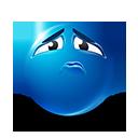 Sad Face Emoticon by lazymau