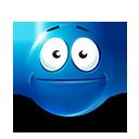 Poker Face Emoticon by lazymau