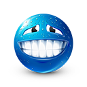Sweat Smile Emoticon by LazyCrazy