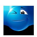 Winking Emoticon by lazymau