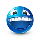 Laughing Emoticon by LazyCrazy