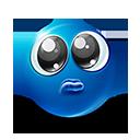 Poor Big Eyes Emoticon by lazymau