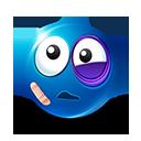 Beaten Emoticon by LazyCrazy