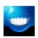 Big Grin Emoticon by LazyCrazy