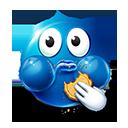 Eating Cookie Emoticon by lazymau