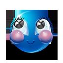 Cheeks Emoticon by lazymau