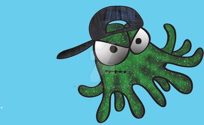 Rebel Squid by Crackoala
