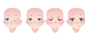 TDA Face Texture edit [download] by Sugatsunee