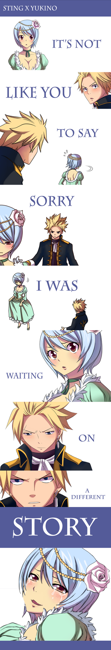 I Was Waiting  On A Different Story by Inspired-Destiny