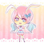 Cotton Candy Bunny [CLOSED Adoptable]