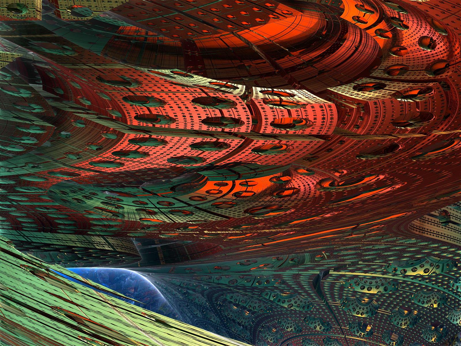 Circular Interior by KateHodges